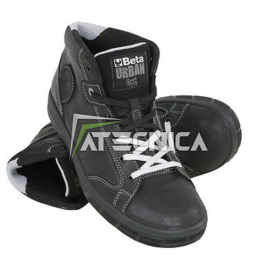 Safety shoes high leather water-repellent Urban Beta Work 7368NKK S3