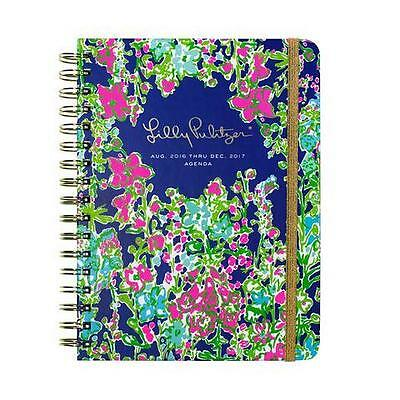 LILLY PULITZER LARGE Agenda SOUTHERN CHARM Calendar schedule 2016-2017 planner
