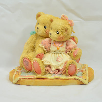 """Enesco Cherished Teddies """"Nathaniel & Nellie"""" """"Twice As Nice With You"""" - #950513"""