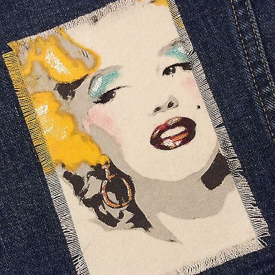 Marilyn Monroe - Large Iron On Patch