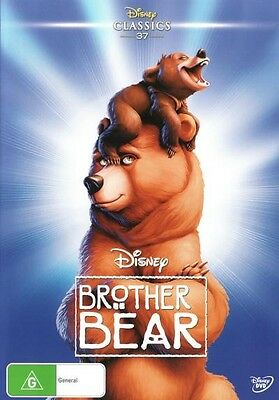 BROTHER BEAR-DVD-Walt Disney Classics 37-Region 4-New AND  Sealed