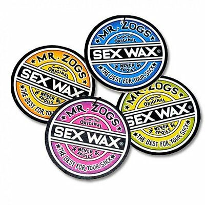Mr Zogs Sex Wax Car Air Fresheners Surf Scent Coconut/Pinapple/Grape/Strawberry