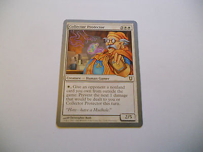 1x MTG Collector Protector Magic EDH UNH Unhinged ING Inglese x1