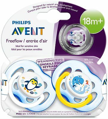 Avent Free Flow Soother - 18 Months +
