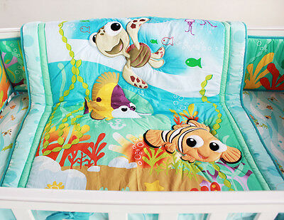 NEW Baby Cot Bedding Sets  PCs - Quilt Bumper Fitted Sheet 127-8