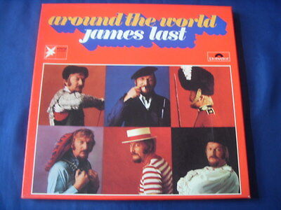 3 Lp- James Last Around The World Spanien England Russland Italy 1970  6 Photos