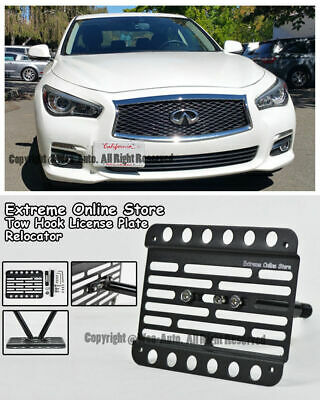 Multi Angle Tow Hook License Plate Holder 2014-Up BMW 4-series F32 F33 Base PDC