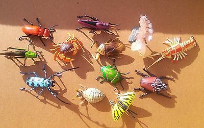 12 ChocoEgg ChocoQ Kaiyodo insects & Invertebrates crab beetle lobster HTF!