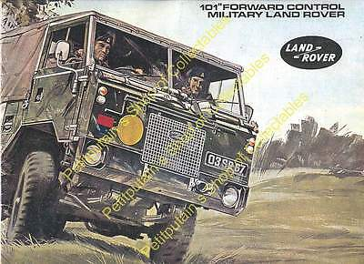 Land Rover 101 Forward Control Military Land Rover 1972 -  Electronic PDF