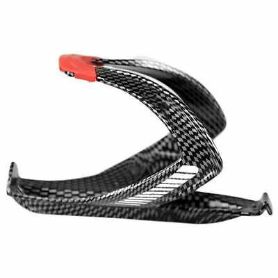 Cycling Bicycle Bike Outdoor Carbon Fiber Water Bottle Drinks Holder Cages CU