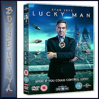 Lucky Man - Complete Series 1 - Stan Lee  *** Brand New Dvd***
