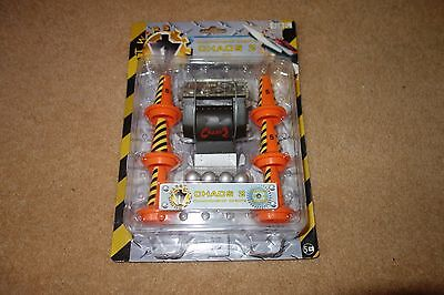 BBC ROBOT Chaos 2 Pullback Carded BNIB unopened and unused.