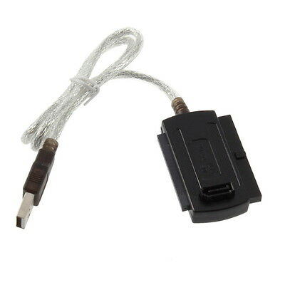 USB 2.0 to IDE SATA 5.25 S-ATA/2.5/3.5 480Mb/s data Interface Adapter Cable CU