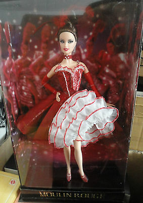 BARBIE MOULIN ROUGE NRFB - GOLD LABEL - model muse doll collection da collezione
