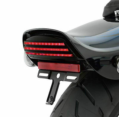HARLEY DAVIDSON TRI BAR LED TAIL LIGHT for DYNA FAT BOB
