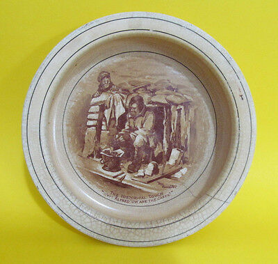 Grimwades Bruce Bairnsfather Great War Souvenir Dish  'Ow Are The Cakes?' 7 inch