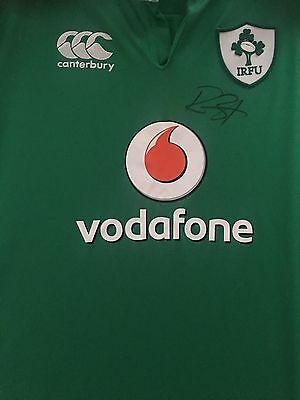 Rory Best Signed Ireland Rugby Shirt 2016 +Photo Proof*see Him Sign**captain*