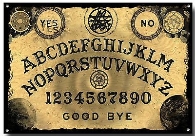 Ouija Board  A3 Metal Sign, Ghosts, Scary, Decor, Wall Art,retro,unique,tattoo