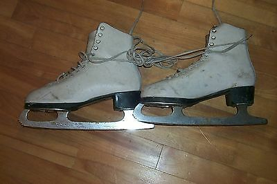 Daoust Ice Queen GIRL'S FIGURE SKATES adult size 5 1/2
