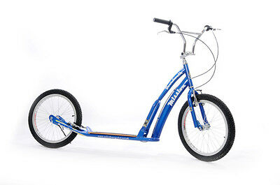 "Mission Boardwalk Adults Push On or Off Road Scooter Blue 20"" Wheels - RRP£235"