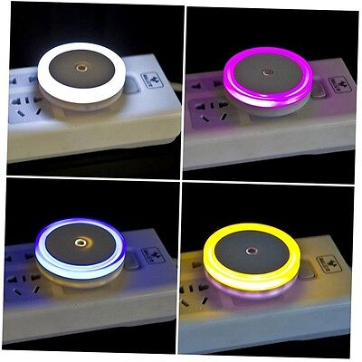 Potable Convenient Smart Sensor Light in Bed Room LED Night Sleeping Lamp Plug C