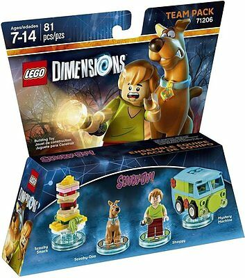 Lego Dimensions Scooby Doo Team Pack NEW SEALED FAST DISPATCH