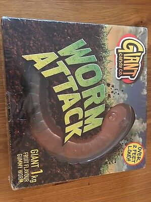 Worm Attack Giant Sweet 2ft Long Edible