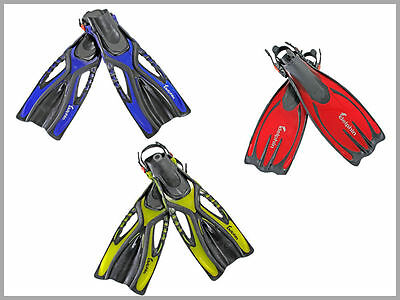 Delphin Scuba Flippers Swimming Adults Diving Snorkelling Webbed Fins Adjustable