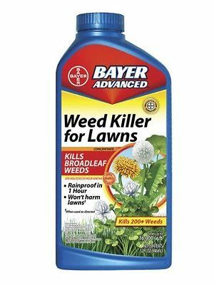 Bayer Advanced Weed Killer for Lawns Concentrate - 32-ounces - NEW