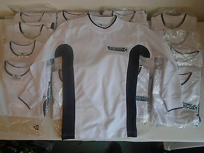 Bundle of Brand New Barclay's Premier League White Long Sleeve Football Shirts 5