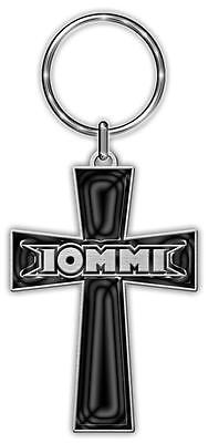 Official Licensed - Tony Iommi - Cross Keychain Metal Keyring Ozzy Black Sabbath