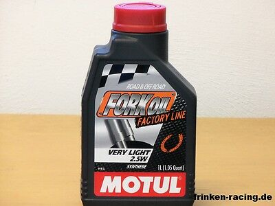 Motul Fork Oil Factory Line Very Light 2,5W 1Ltr Gabelöl