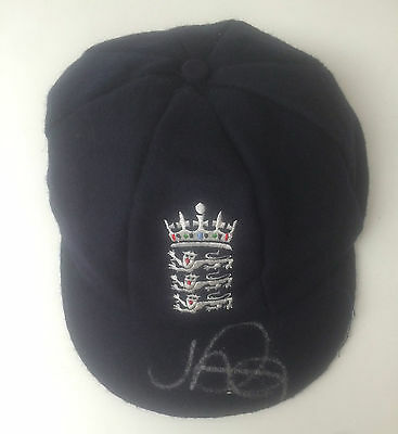 Joe Root Signed England Cricket Test Cap +Photo Proof
