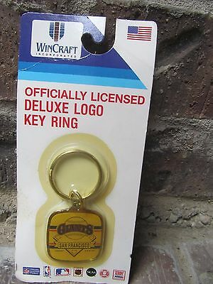 Vintage 1990 SAN FRANCISCO GIANTS Key Chain WIN CRAFT Still Sealed in Package
