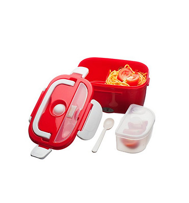 Electric Food Warmer Electronic Heated Portable Compact Lunch Bento Box Handle