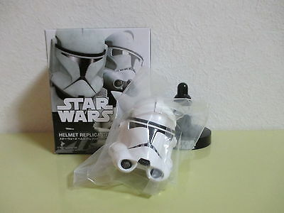 """Bandai Star Wars Helmet Replica Collection 2 Clone Trooper Phase 2 for 12"""" 1/6"""