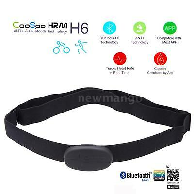 CooSpo H6 ANT Bluetooth Sport Heart Rate Monitor Smart Sensor Chest Strap H3P9