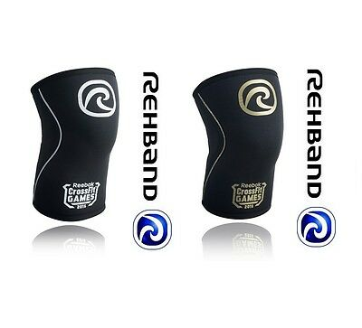 CorssFit Knee Support Rehband Rx 105xx 5mm/7mm Weightlifting Powerlifting Limit