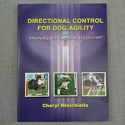 """Directional Control For Dog Agility & """"Training With Mental Telepathy"""" Book"""