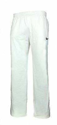 Mens Large NIKE Cricket Trousers Adult Pants Whites INDIA