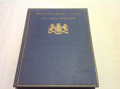 British Government in India - Story of the Viceroys - Large HB DJ 1925