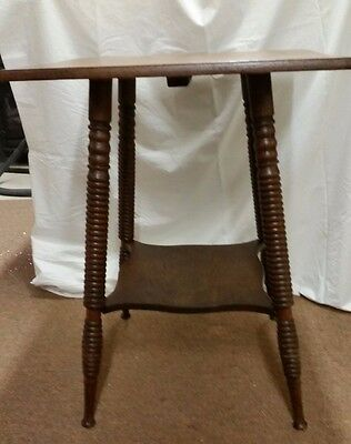 BEST OFFER Antique Vintage oak side parlor table