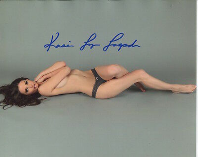 Kassie Lyn Logsdon In Person Signed Photo - B693 - Playboy Playmate for May 2010