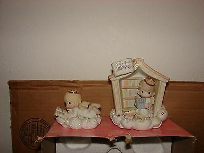 2003 used Precious Moments The Good Book Library Heavenly Daze Series MISSING 1