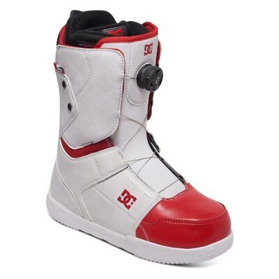 Dc Shoes Scout Boa Boots White Red Fw 2017 Scarponi 42 New Snowboard
