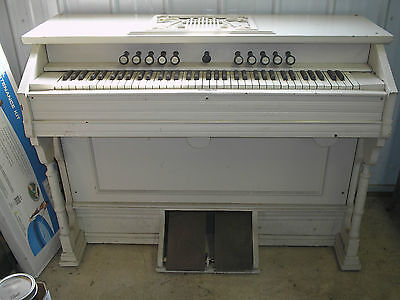 Antique 1880's Pump Organ with Stool