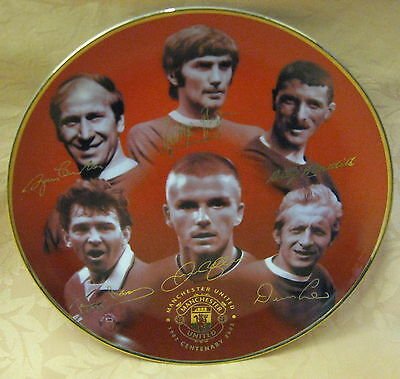 NEW Danbury Mint Manchester United 100 Glorious Years Porcelain Collectors Plate