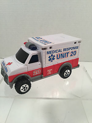Buddy L, Motorized, Lights and Sound Ambulance Medical Response , Unit 20, Truck