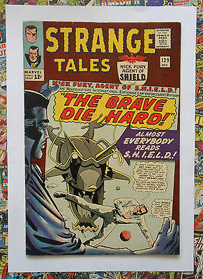 Strange Tales #139 - Dec 1965 - Hydra Appearance! - Vfn+ (8.5) Cents Copy