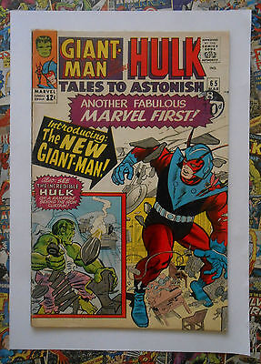 Tales To Astonish  #65 - Mar 1965 - New Giant Man Appearance! - Fn- (5.5) Cents!